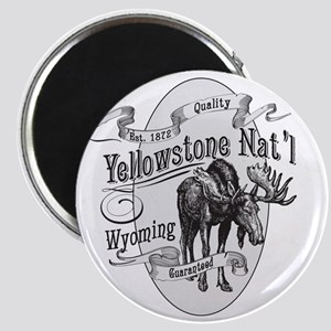 Yellowstone Vintage Moose Magnet