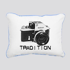 Nikon Rectangular Canvas Pillow