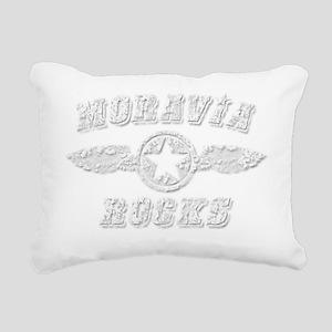 MORAVIA ROCKS Rectangular Canvas Pillow