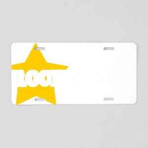 Rockhound Star Aluminum License Plate