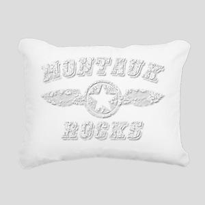 MONTAUK ROCKS Rectangular Canvas Pillow
