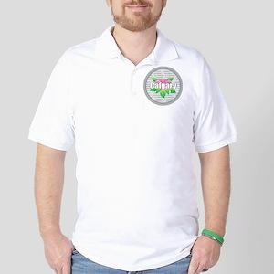 Calgary - Hibiscus Golf Shirt