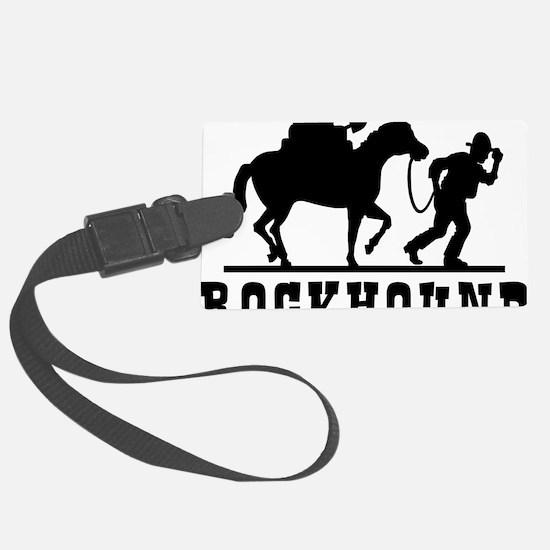 Rockhound Luggage Tag