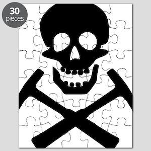 Rockhound Skull Cross Picks Puzzle