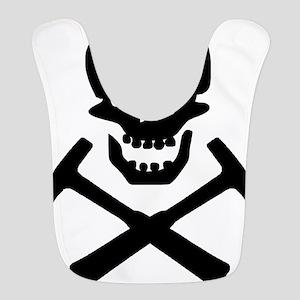 Rockhound Skull Cross Picks Bib