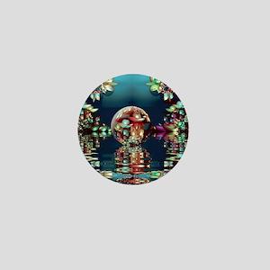 Mandelbrot Fractal Lake 2 Mini Button