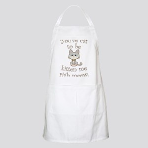 Right Meow Apron