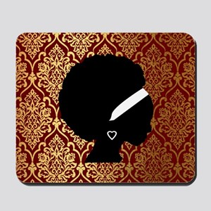 African American Woman Mousepad