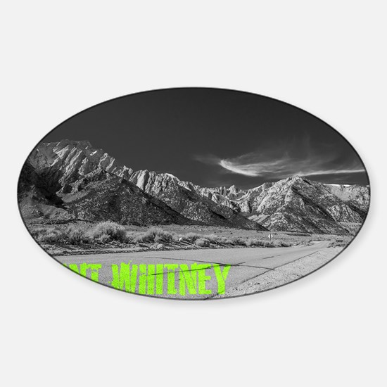 Mount Whitney Sticker (Oval)