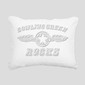 BOWLING GREEN ROCKS Rectangular Canvas Pillow