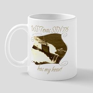Texas (SSN 775) Mugs