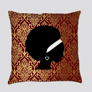 African American Woman Everyday Pillow