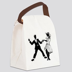 Swing Dancers Canvas Lunch Bag