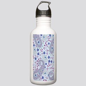blue paisley Stainless Water Bottle 1.0L