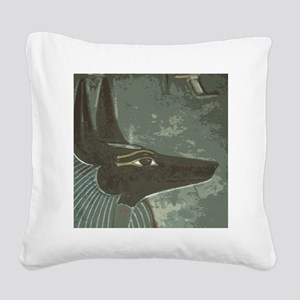 Anubus Art Square Canvas Pillow