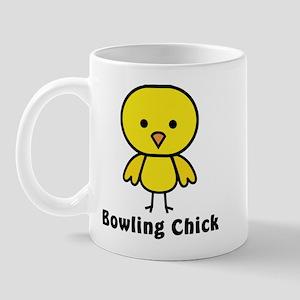 Bowling Chick Mug