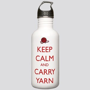 Keep Calm and Carry Ya Stainless Water Bottle 1.0L