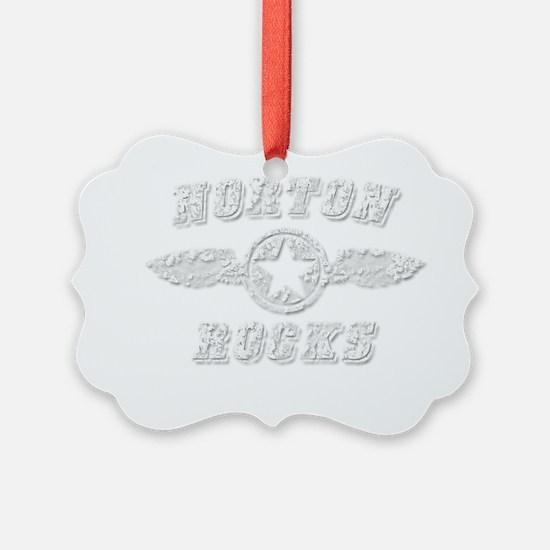 NORTON ROCKS Ornament