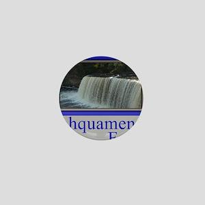 Tahquamenon Falls Michigan UP Mini Button