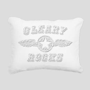 OLEARY ROCKS Rectangular Canvas Pillow