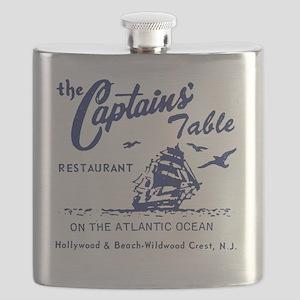Captains Table Restaurant - Wildwood Crest,  Flask