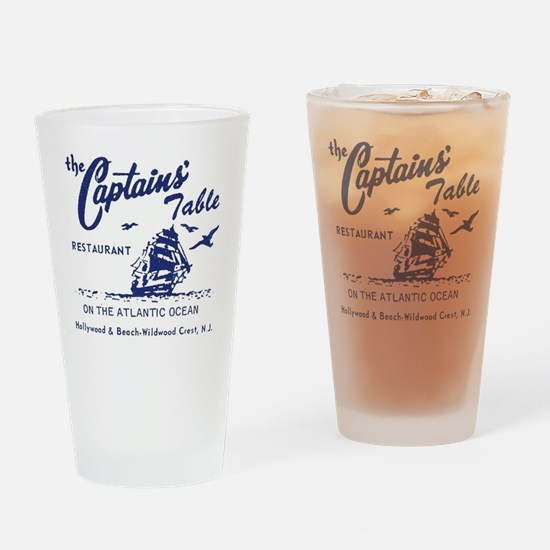 Captains Table Restaurant - Wildwoo Drinking Glass