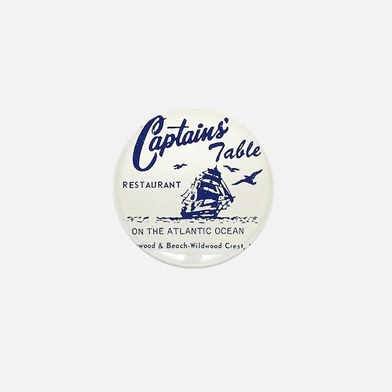 Captains Table Restaurant - Wildwood C Mini Button