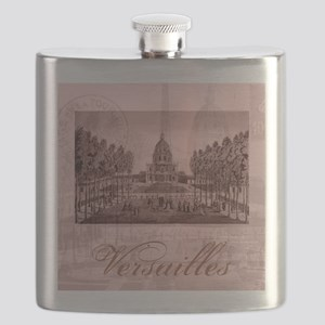 versailles shabby chic pink Flask