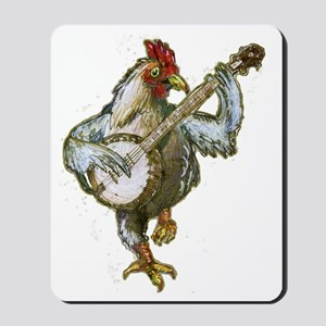 Banjo Chicken Mousepad