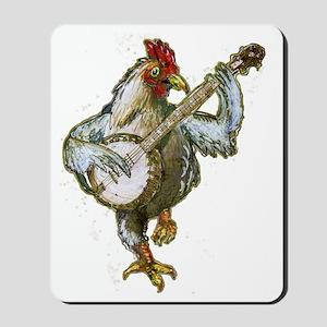 Banjo Chicken Mousepad
