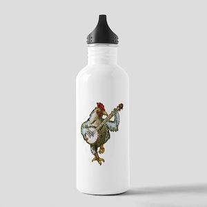 Banjo Chicken Stainless Water Bottle 1.0L