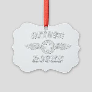OTISCO ROCKS Picture Ornament
