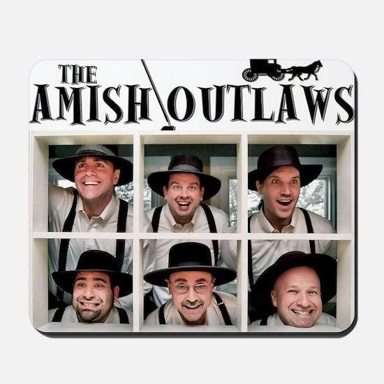 Amish Outlaws Kid Shirt Mousepad