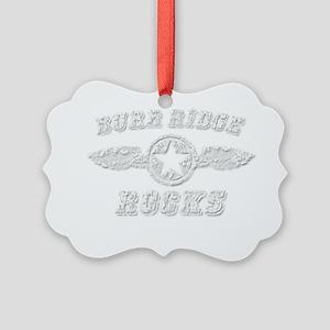 BURR RIDGE ROCKS Picture Ornament