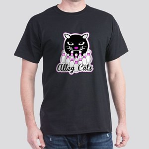 Alley Cat Bowling Dark T-Shirt