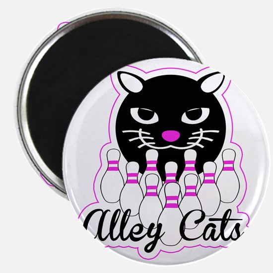 Alley Cat Bowling Magnet
