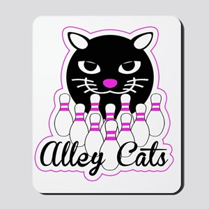Alley Cat Bowling Mousepad
