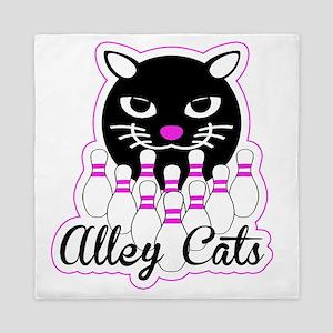 Alley Cat Bowling Queen Duvet