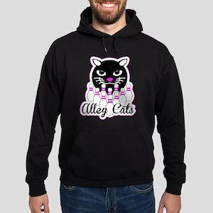 Alley Cat Bowling Hoodie (dark)