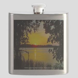 Sunset Lake (Yellow) Flask