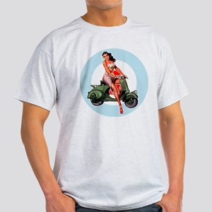 Scooter Girl Green Mod Target T-Shirt