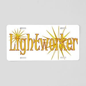 Lightworker Aluminum License Plate