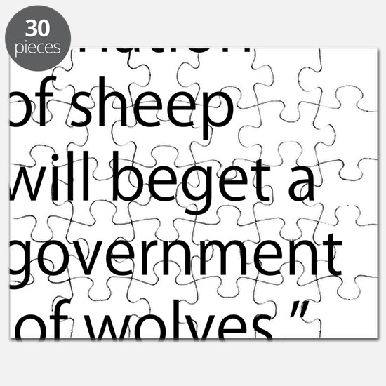 Nation of Sheep Puzzle