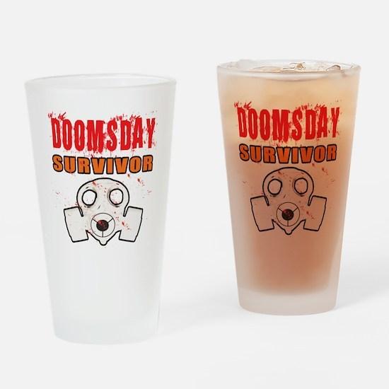 DOOMSDAY SURVIVOR Drinking Glass