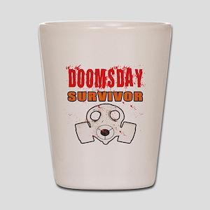 DOOMSDAY SURVIVOR Shot Glass