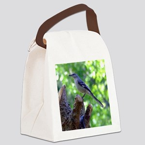 Northern Mockingbird Canvas Lunch Bag