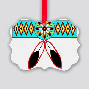 NATIVE PRIDE Picture Ornament