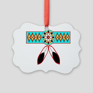 NATIVE PRIDE Picture Ornament