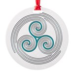 Triple Spiral - 13 Ornament