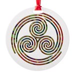 Triple Spiral - 12 Ornament